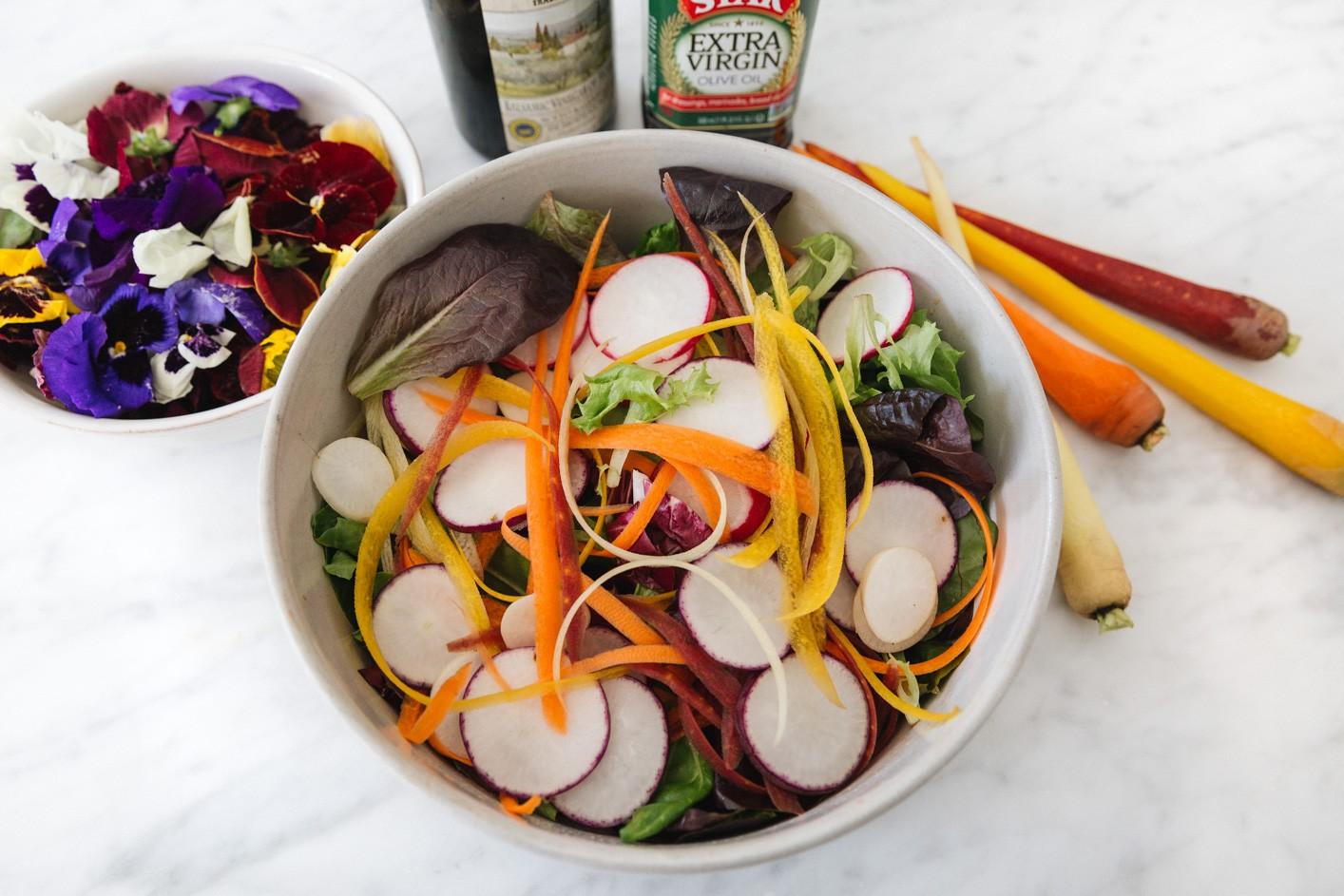 Самый красивый салат, который вы когда-либо ели