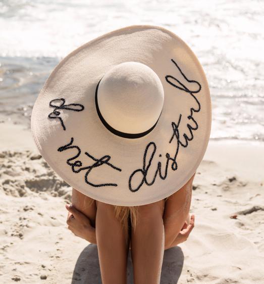 пляж, шляпа, beach hat