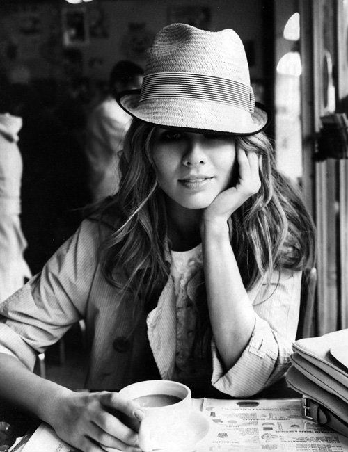 fedora hat, parisian chic