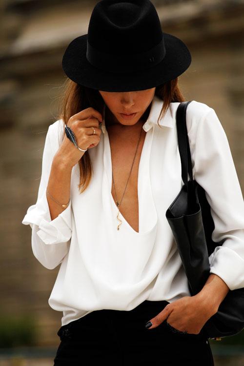 парижский гардероб, шляпа, parisian chic, black hat
