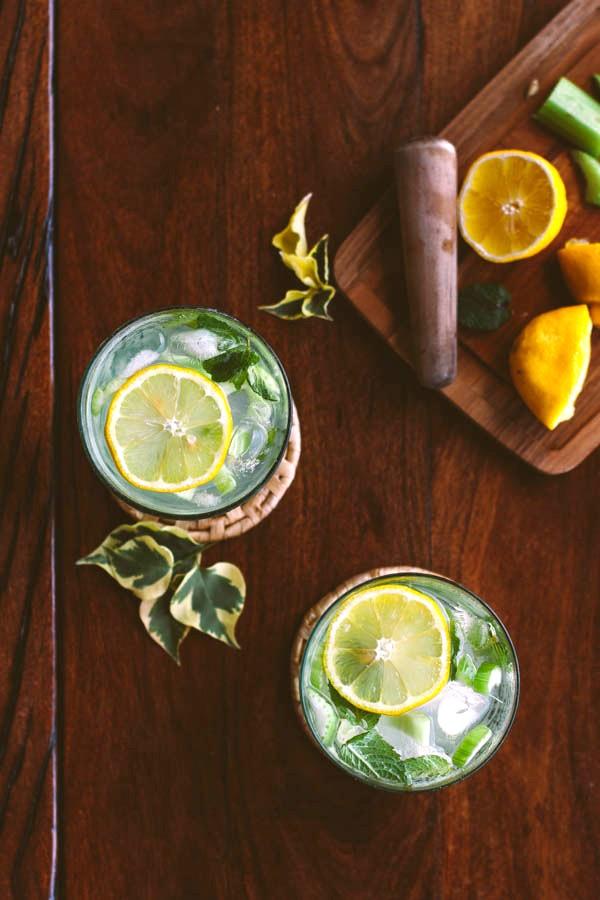 Шпритц с сельдереем: свежий летний аперитив для дачных обедов