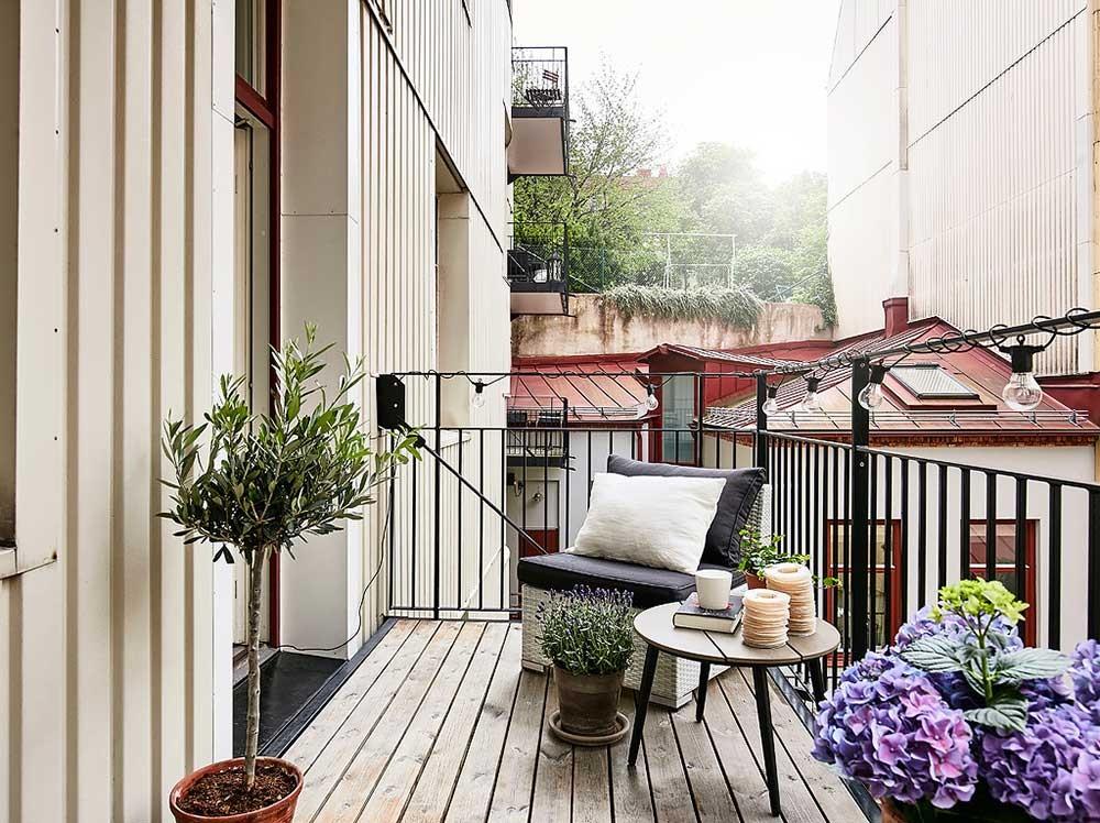 Скандинавский дизайн: норвежские балконы
