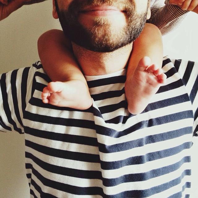 Папа и малыш. Советы молодым родителям.