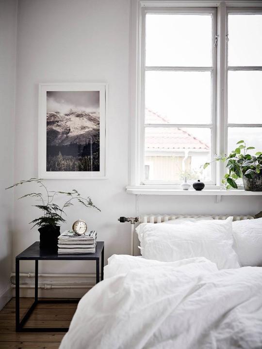спльня, скандинавский дизайн