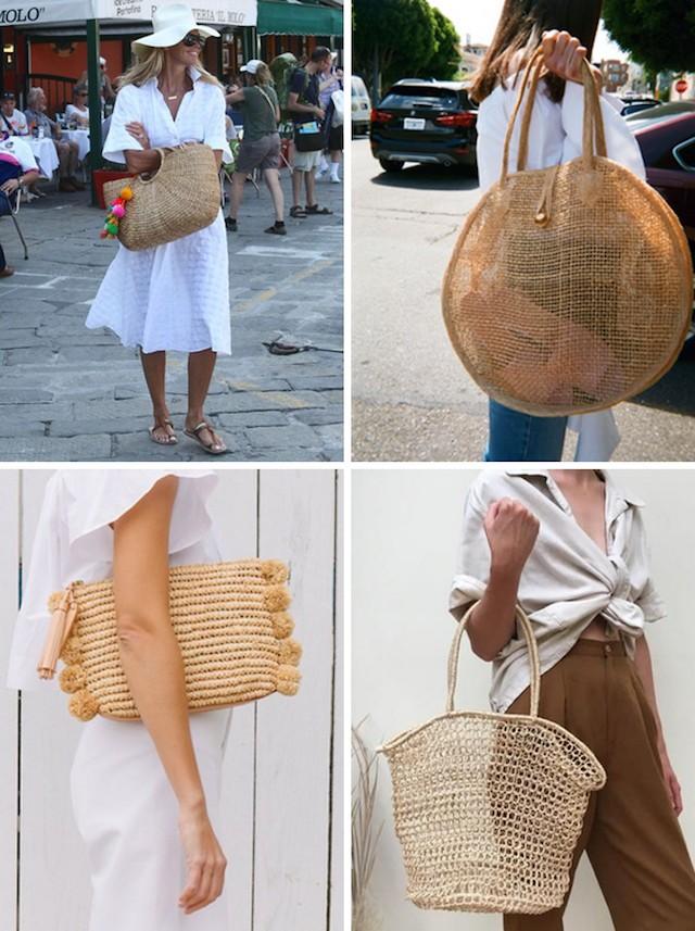 Straw bag - главный аксессуар этого лета