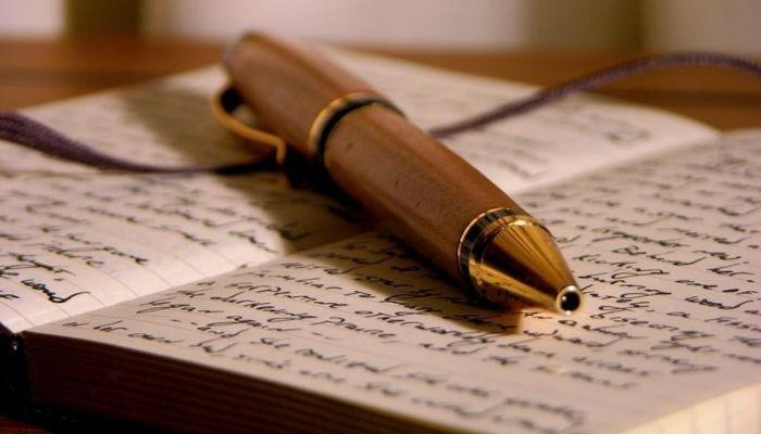 Личный дневник, записи в записной книге