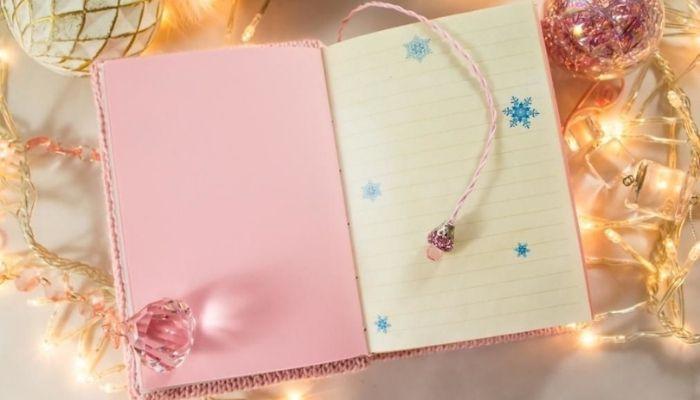 записная книга Новый год