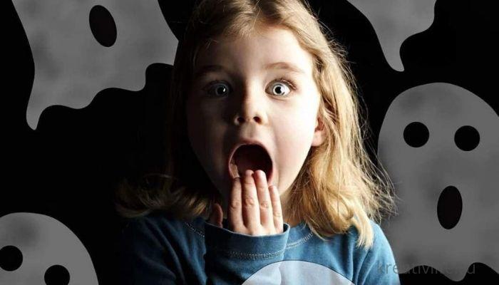 Ребенок боится, выдуманные страхи