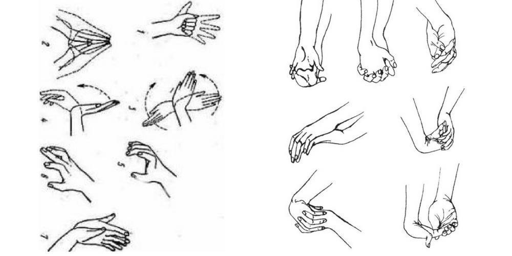 утренняя гимнастика комплекс упражнений для кистей рук