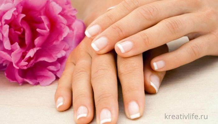 красивые ногти, ухоженные, аккуратные, натуральные