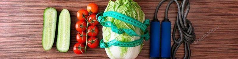 здоровая еда, спорт, похудение, питание