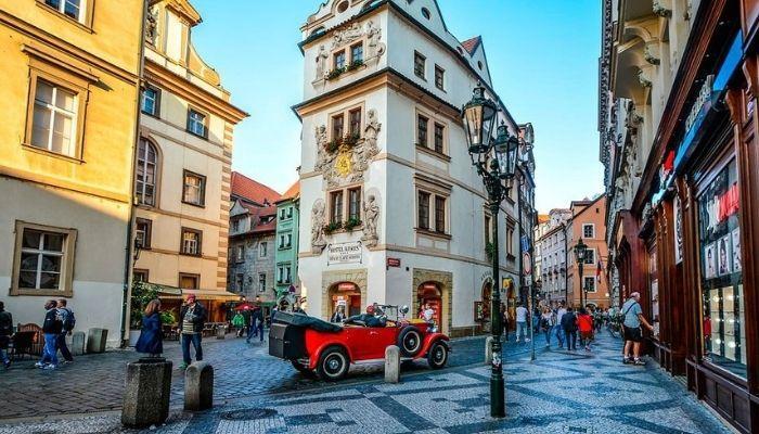 Красивый европейский город