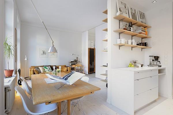 маленькая квартира в Стокгольме
