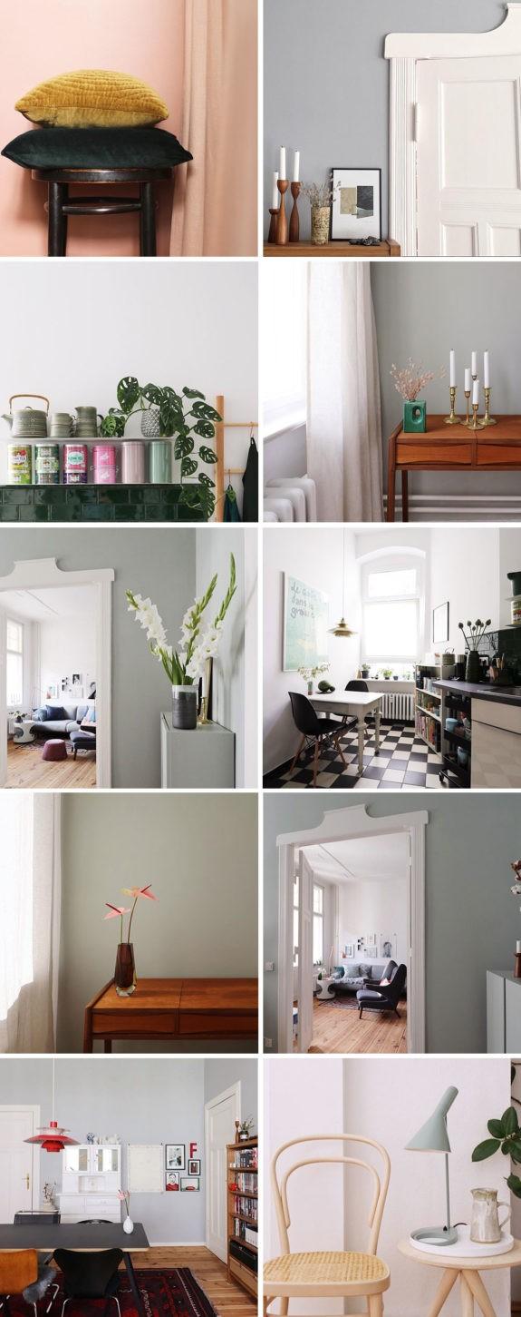 Цвет и форма в декоре интерьера: одна квартира в Берлине