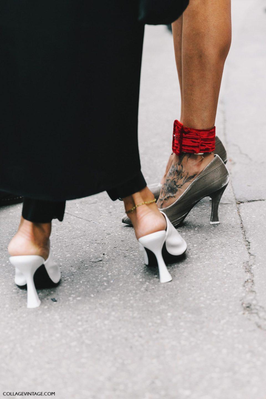 statement shoes, trends 2017, показы в милане, тренды 2017
