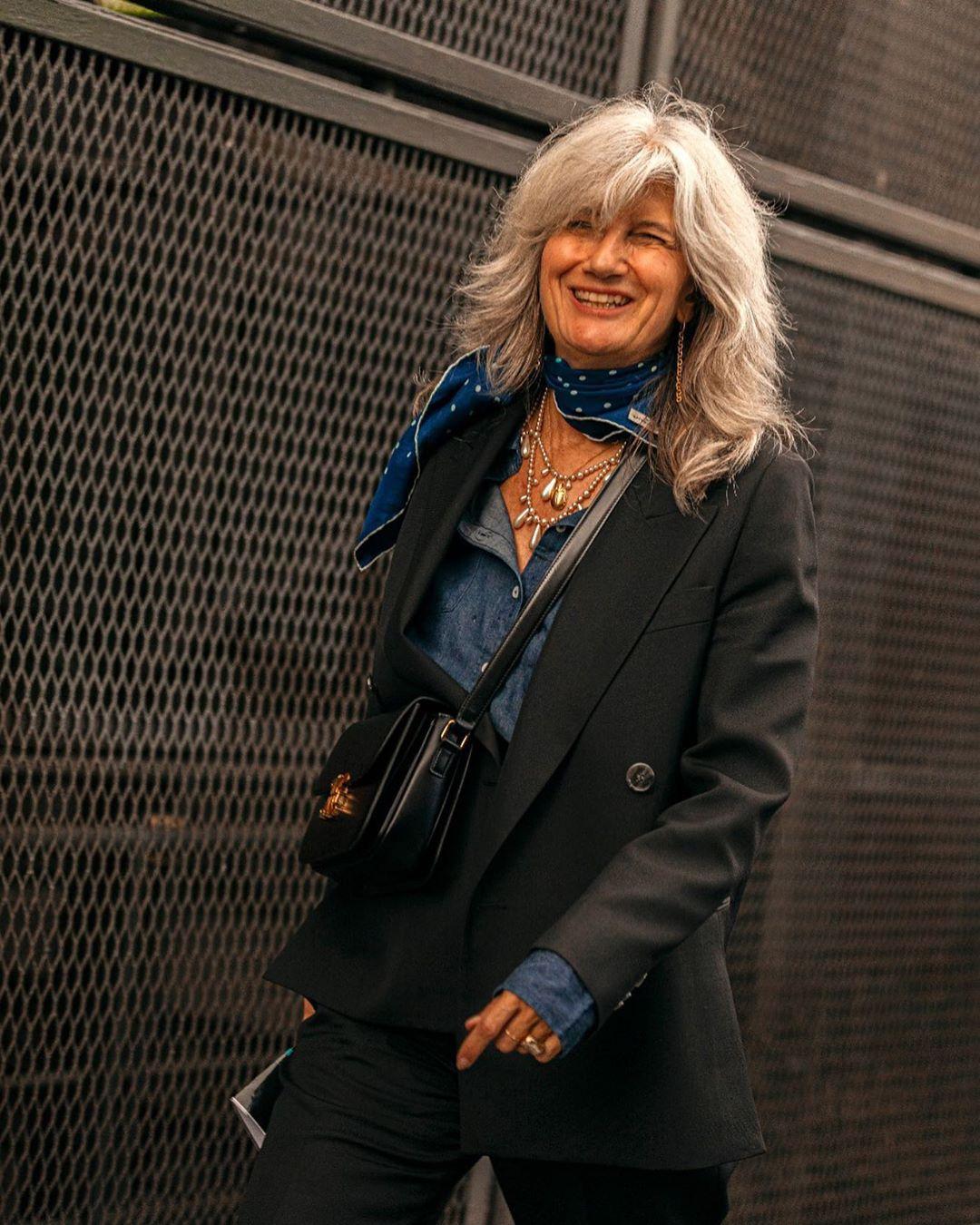 Уроки стиля от 57-летней парижской журналистки: Sophie Fontanel и ее инстаграм