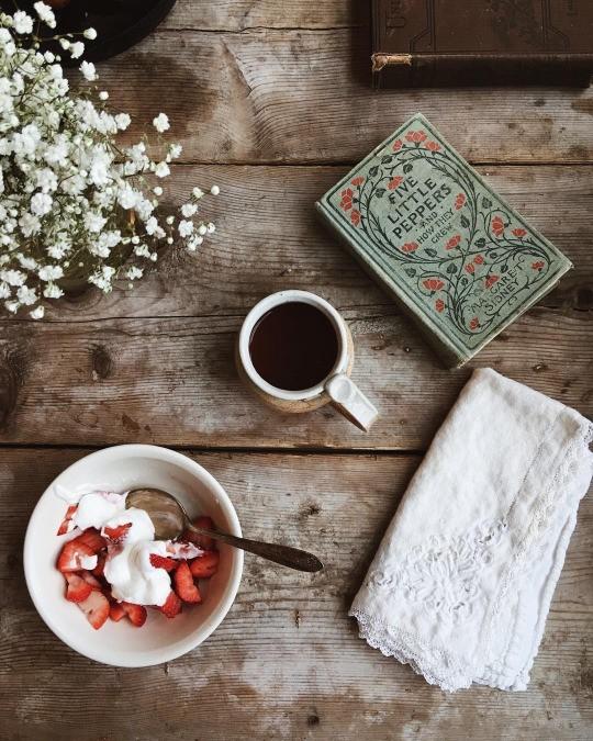 уютный завтрак