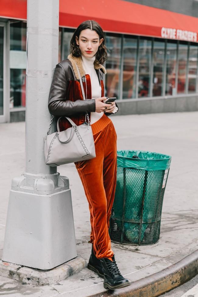 Все, что носится прямо сейчас: стрит стайл с нью-йоркской недели моды