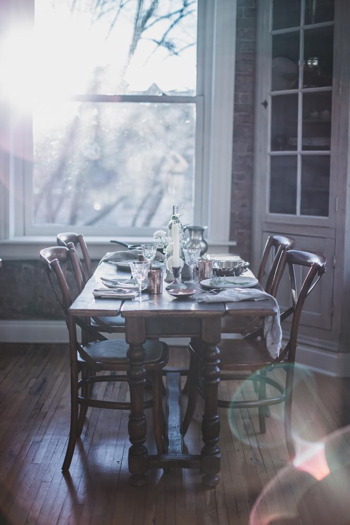 сервировка стола, обед, декор стола, дом