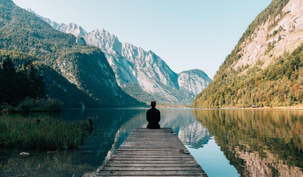 Медитация — это когда совсем без мыслей