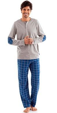 мужская шелковая пижама